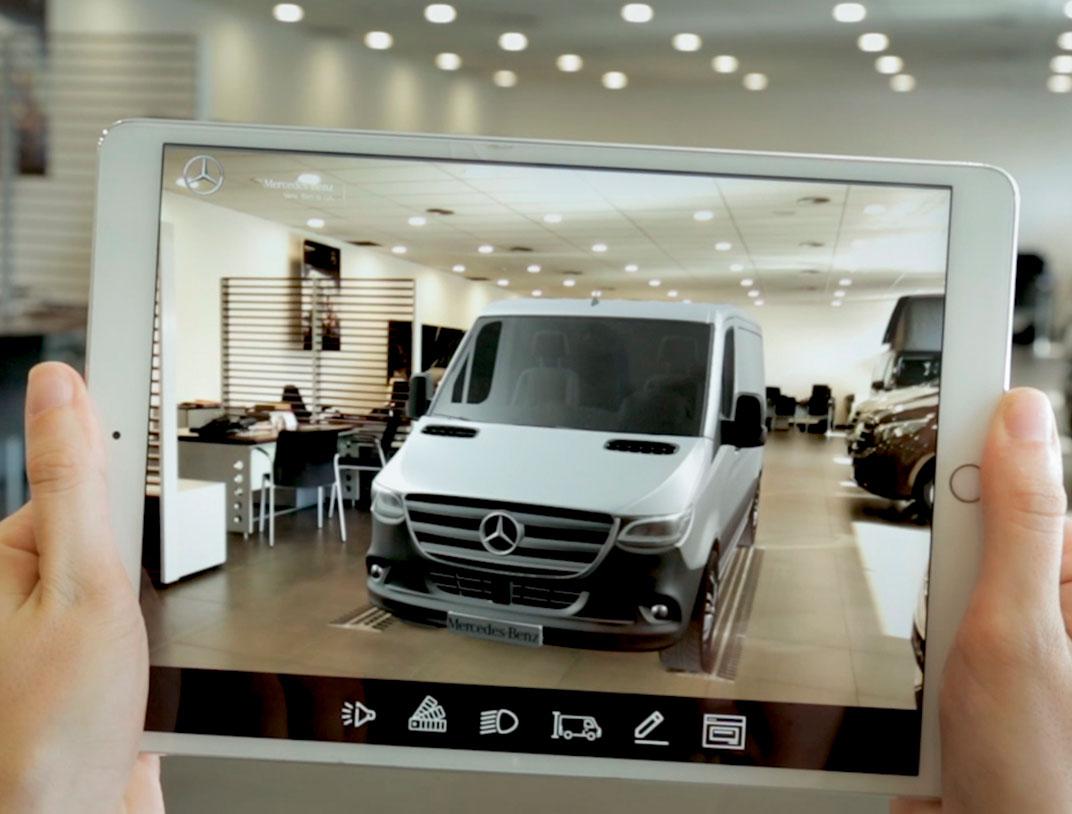 Mercedes-Benz. Sprinter fantasma